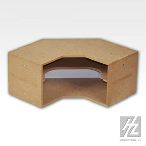 Workstation Shelves Corner Module