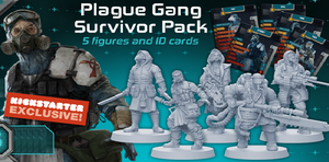 Zombicide - Invader : Plague survivor pack
