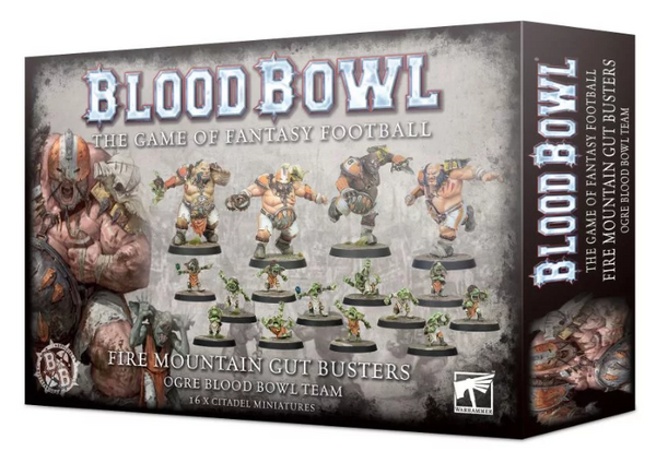 Blood Bowl Team: The Fire Mountain Gut Busters