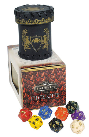 The Dark Eye dice cup