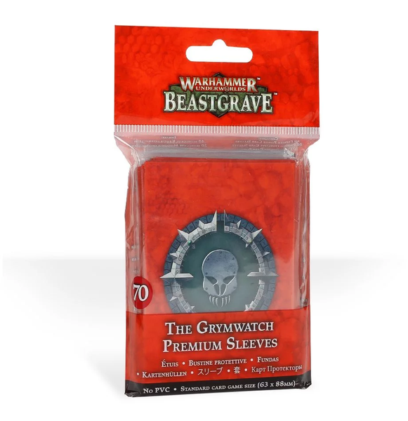 Beastgrave - The Grymwatch sleeves