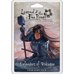 Legend of the Five Rings - LCG : Defenders of Rokugan (crab clan pack)