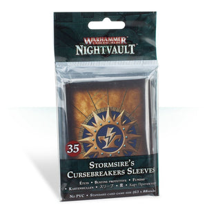 Nightvault - Stormsire's Cursebreakers sleeves