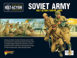 Soviet Army : Bolt Action starter army