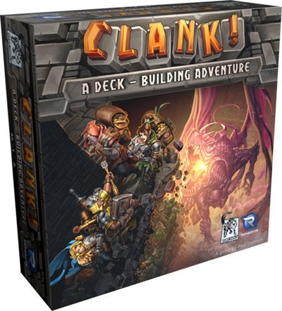 Clank! a deck building adventure