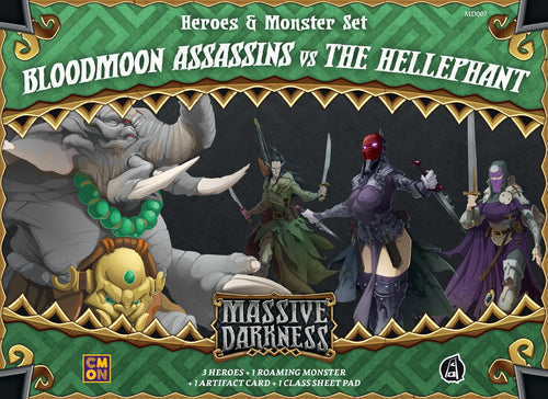 Massive Darkness - Bloodmoon Assassins Vs. The Hellephant