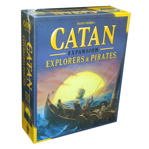 Catan : explorers & pirates