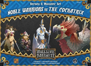 Massive Darkness - Noble Warriors Vs. The Cockatrix