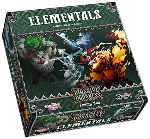 Massive Darkness - enemy box : Elementals