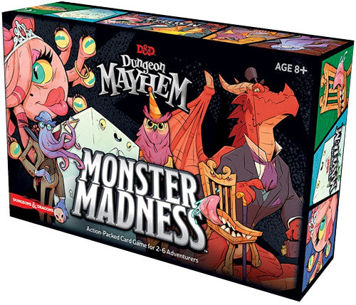 Dungeon Mayhem : Monster Madness expansion