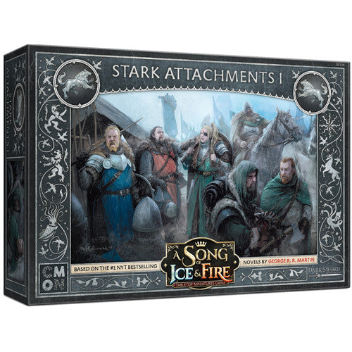 A Song of Ice & Fire : Stark attachments 1 (pre-order)