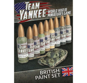 Team Yankee : British paint set