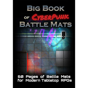 Big book of Cyberpunk battlemats