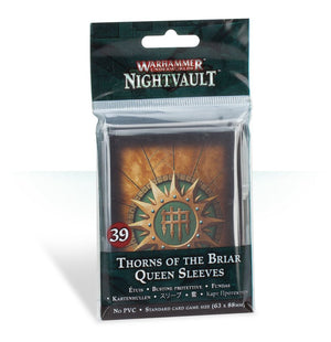 Warhammer Underworlds: Nightvault - Thorns of the Brair Queen sleeves