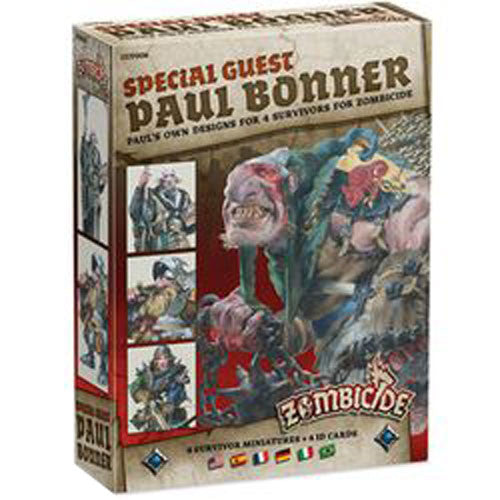 Zombicide : Black Plague - special guest Paul Bonner box