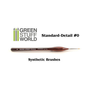 Standard Detail #0 synthetic brush