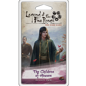 Legend of the Five Rings - LCG : The Children of Heaven Dynasty pack