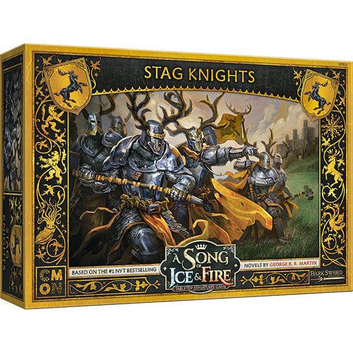 A Song of Ice & Fire : Baratheon Stag Knights