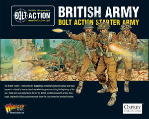 British Army : Bolt Action starter army