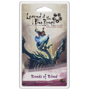Legend of the Five Rings - LCG : Bonds of Blood Dynasty pack
