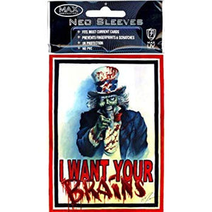 I want your brains sleeves (100)