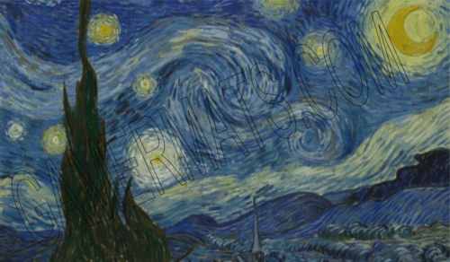 gamermats - Starry Night