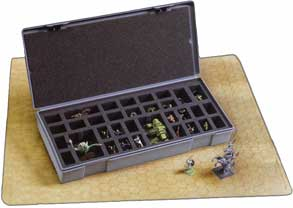Chessex Very Large 40 Figure Storage Box