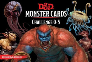 Dungeons & Dragons - Monster Cards : Challenge 0-5