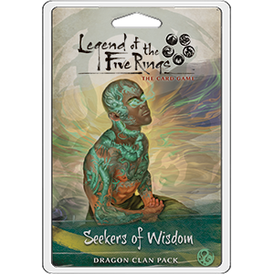 Legend of the Five Rings - LCG : Seekers of Wisdom (dragon clan pack)