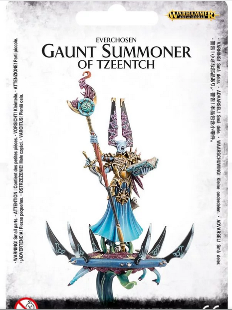 Gaunt Summoner on disc of Tzeentch
