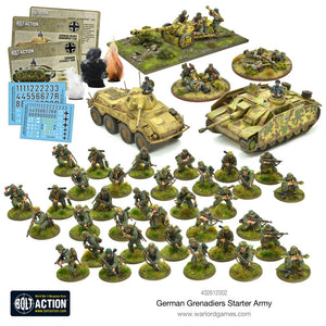 German Grenadiers : Bolt Action starter army