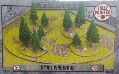 Battlefield in a Box: small pine wood