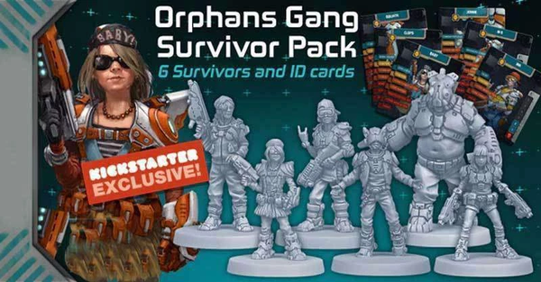 Zombicide - Invader : Orphans survivor pack