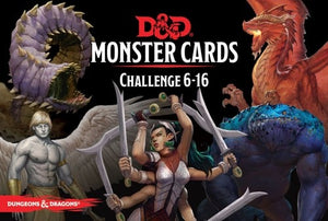 Dungeons & Dragons - Monster Cards : Challenge 6-16