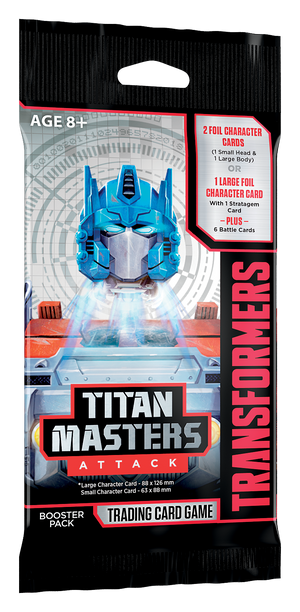 Transformers TCG : Titan Masters Attack booster