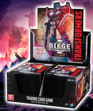 Transformers TCG : War for Cybertron Siege I booster box (June 28)
