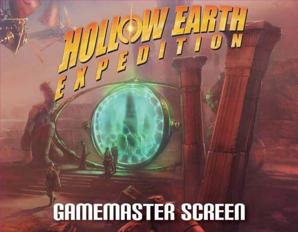 Hollow Earth Expedition: Revalations of Mars - Gamemaster Screen