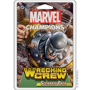 Marvel Champions LCG : The Wrecking Crew scenario