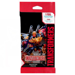 Transformers TCG : Rise of the Combiners booster