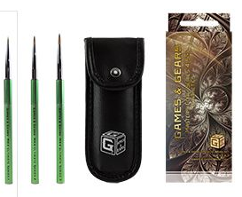 Games & Gears : Masters Core Series 4 Synthetic Brush Set