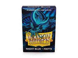 Dragon Shields : Night Blue - matte (60 count Japanese size)