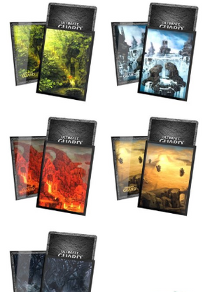 Ultimate Guard Artwork Sleeves: Lands edition II (100)