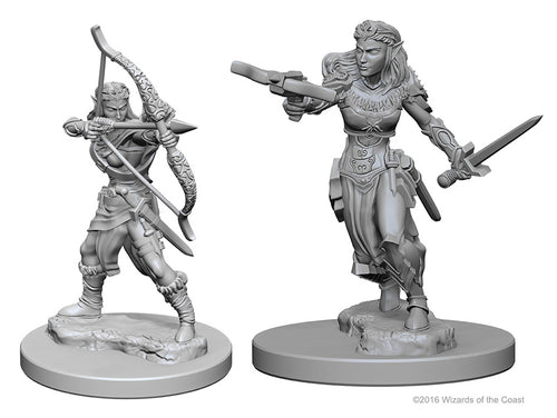 Dungeons & Dragons Nolzur`s Marvelous Unpainted Miniatures: W1 Elf Female Ranger