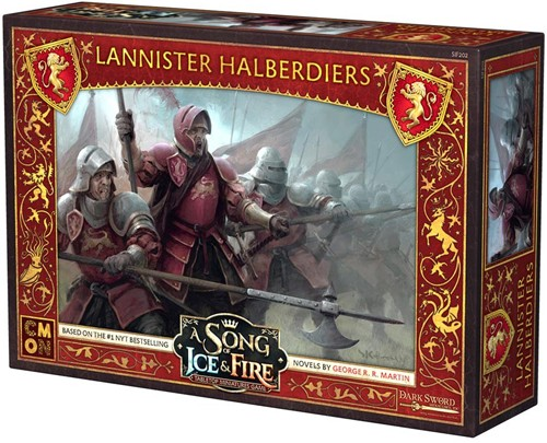 A Song of Ice & Fire : Lannister Halberdiers (Mid November pre order)