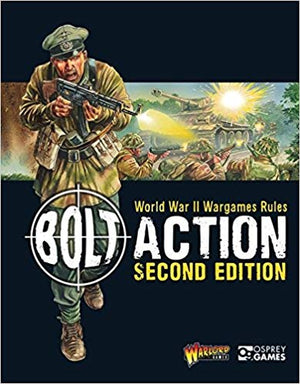 Bolt Action 2nd edition rule book