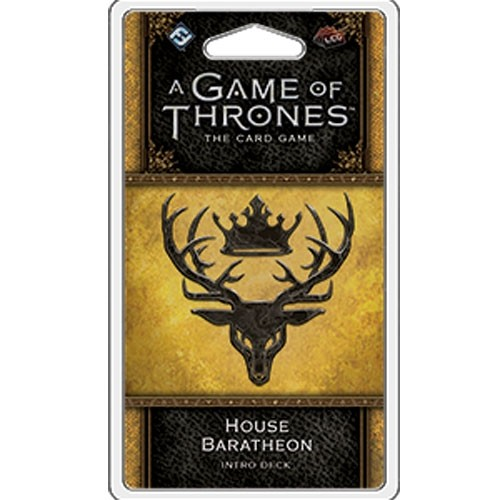 A Game of Thrones : House Baratheon intro deck