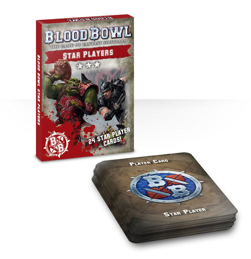 Blood Bowl Star Players card pack