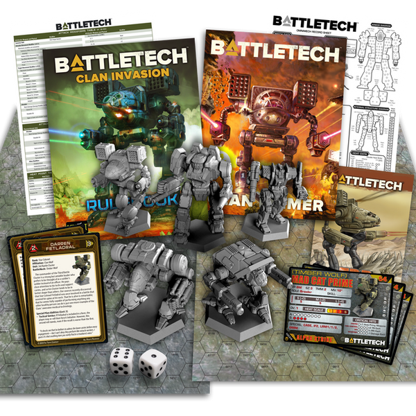 Battletech - Clan Invasion (pre order) NOT YET AVAILABLE