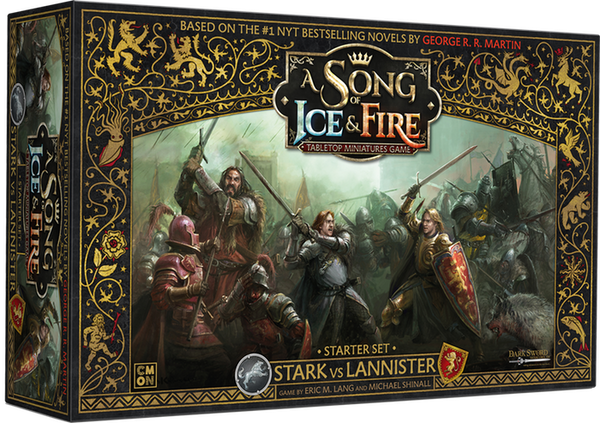A Song of Ice & Fire : Stark Vs Lannister starter set