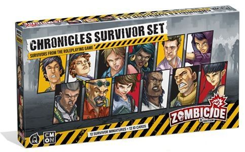 Zombicide 2nd edition - Chronicles Survivors